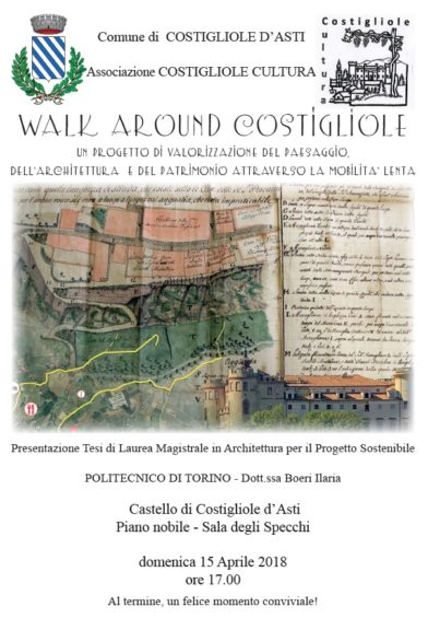 """Walk Around Costigliole"" si presenta"