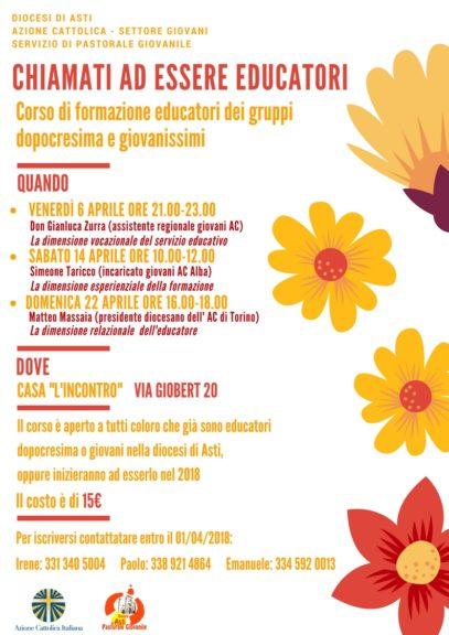 Ad Asti formazione per giovani ed educatori in vista del Sinodo dei Vescovi