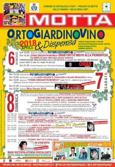 """""""Ortogiardinovino & Dispensa"""" a Motta di Costigliole"""
