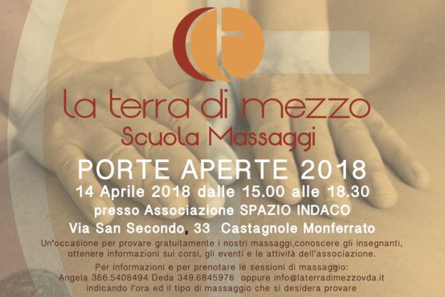 Giornata culturale dedicata al massaggio