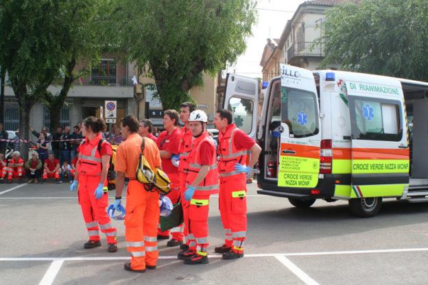 Corso gratuito per aspiranti volontari soccorritori alla Croce Verde di Nizza Monferrato