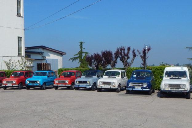 Renault 4 e 2 Cavalli protagoniste di un week end nel Monferrato