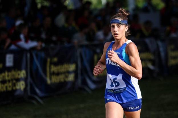 Alice Sotero alla quarta prova di Coppa del Mondo di Pentathlon Moderno