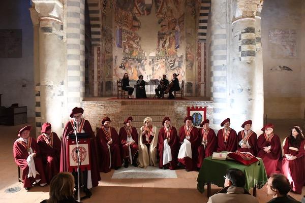 L'ordine dei Cavalieri delle Terre di Asti e del Monferrato al castello di Prunetto