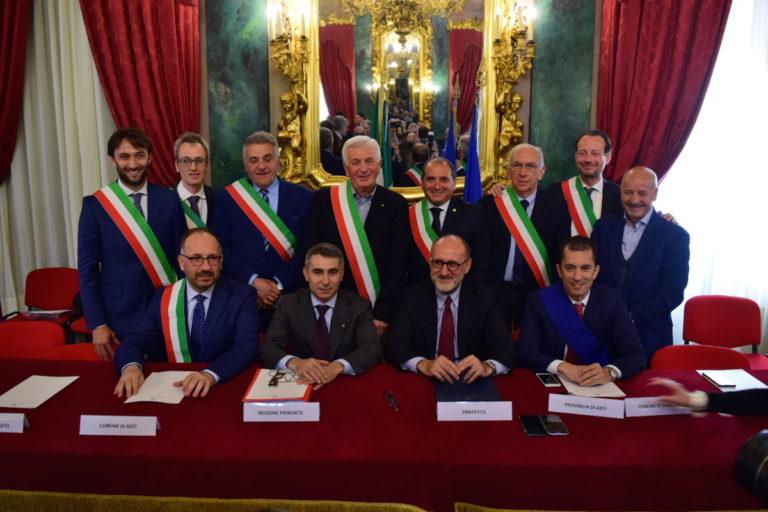 Siglato un patto per la sicurezza urbana e integrata fra dieci sindaci dell'Astigiano
