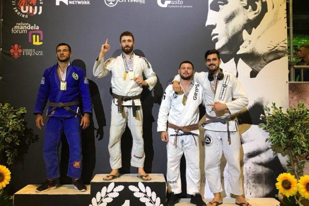 Yel Training Club di Asti fa il pieno di medaglier all'Italian Bjj Open