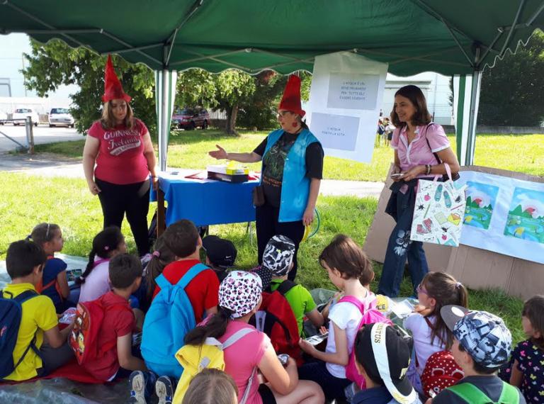 Festa di fine anno scolastico lungo il Borbore nella Giornata dedicata all'Ambiente