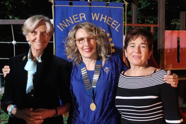 Donatella Testa nuovo presidente dell'Inner Wheel