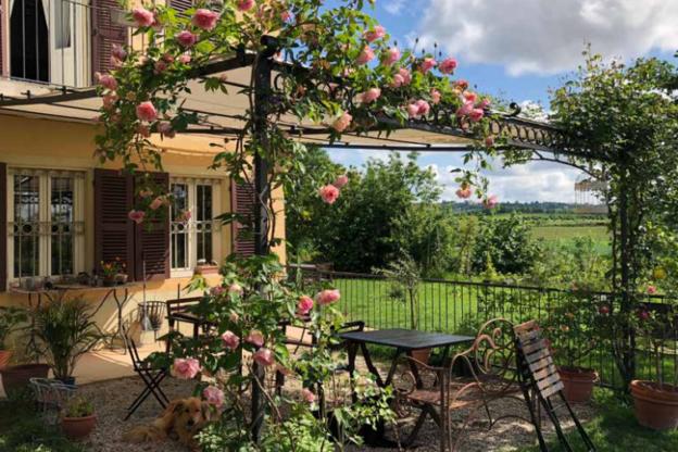Una domenica tra le rose antiche del Monferrato