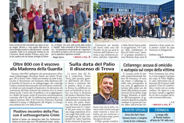 Prima pagina – 29 giugno 2018