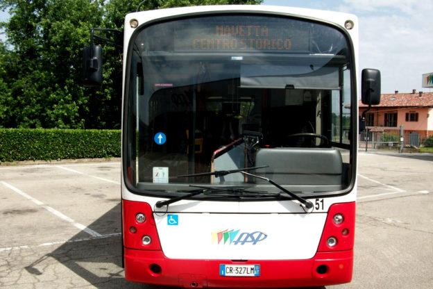 Asti: deviazione di percorso per la navetta del centro storico