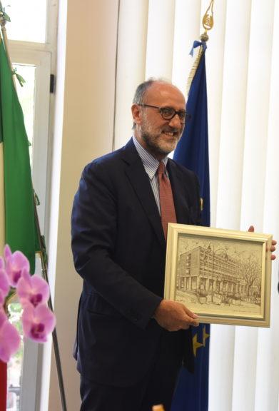L'addio ad Asti del prefetto Paolo Formicola