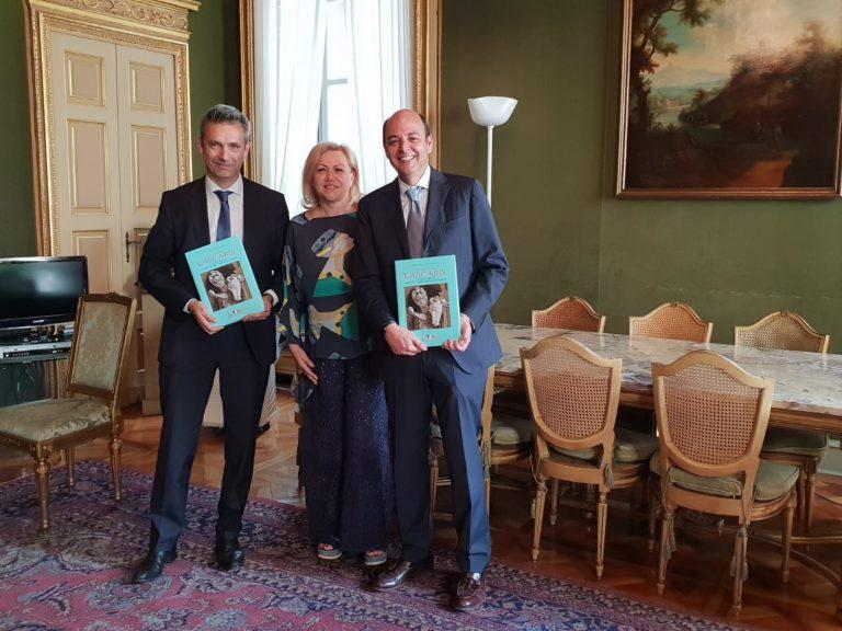 Angela Motta riceve a Palazzo Lascaris il Dg e il direttore amministrativo dell'Asl Asti