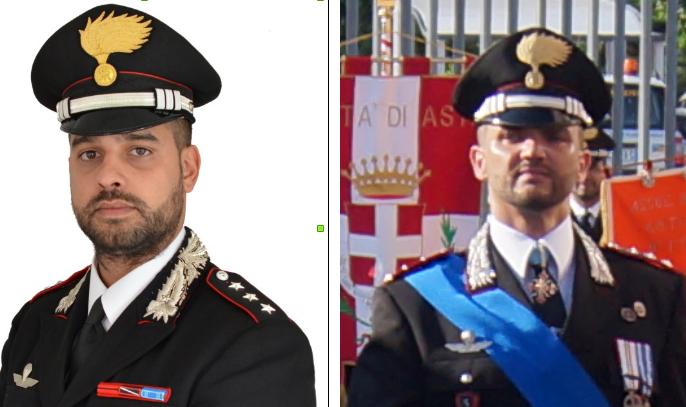 Asti, l'onorificenza dell'Ordine di Malta ai carabinieri Guglielmo e Pino