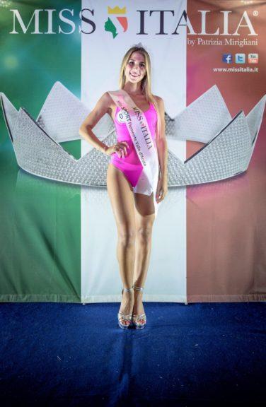 Miss Italia: Rebecca Givone di Asti è Miss Sport Piemonte e Valle d'Aosta
