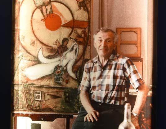 Il mondo utopistico di Chagall a Palazzo Mazzetti: la fotogallery
