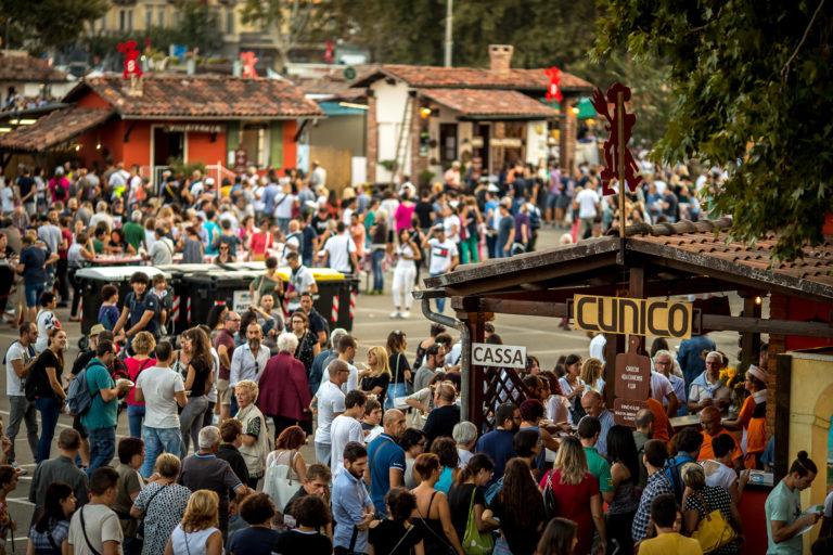 Festival delle sagre: tutti i numeri del villaggio gastronomico