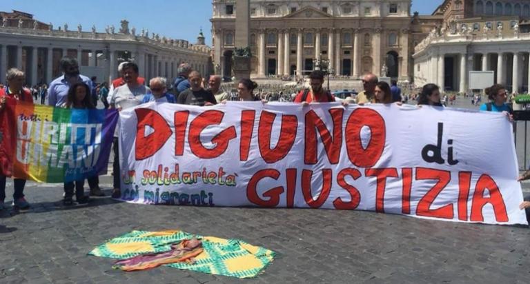 """Asti risponde all'appello di """"Digiuno di giustizia"""""""