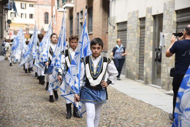 Palio di Asti. Viatosto si aggiudica il premio Mara Sillano per la sfilata dei bambini: la fotogallery