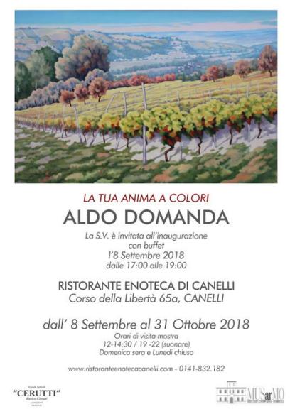 A Canelli la retrospettiva di Aldo Domanda