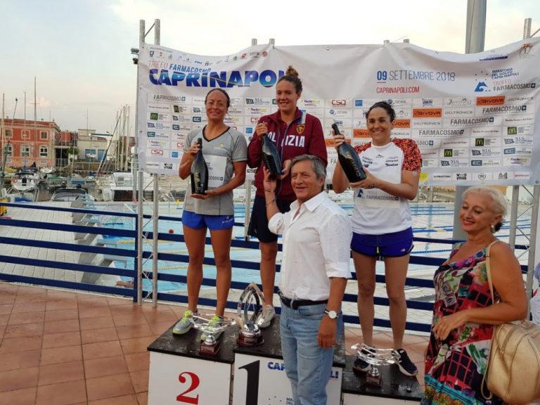 Nuoto, Alice seconda alla Capri-Napoli