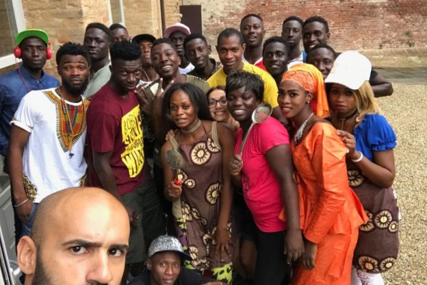 Con la Festa del Tobaski l' Associazione Gambiani  si è presentata ad Asti