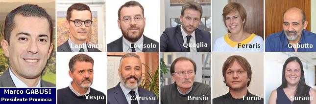 Il 31 ottobre si vota per l'elezione del Consiglio Provinciale