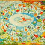 La storia di Asti nel tabellone di un particolarissimo Gioco dell'Oca