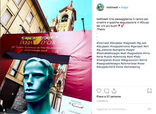 Un misterioso instagramer racconta Asti