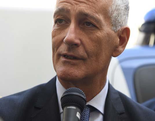 Il capo della polizia Gabrielli ad Asti