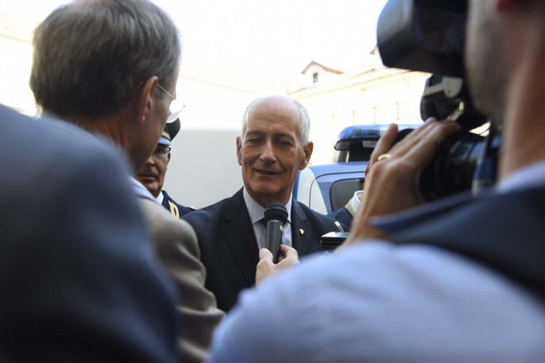 """Asti, il capo della polizia Gabrielli: """"La sicurezza non è solo un diritto ma un bisogno"""""""