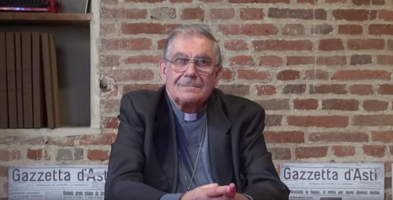 Monsignor Francesco Ravinale saluta Asti: la videointervista