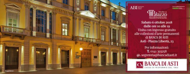 """La Banca di Asti diventa """"museo"""""""