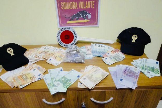 Asti, pusher thailandese scoperto con metanfetamine e 8000 euro in contanti