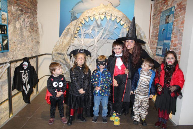 Mille bambini per Halloween Party al museo Paoleontologico di Asti