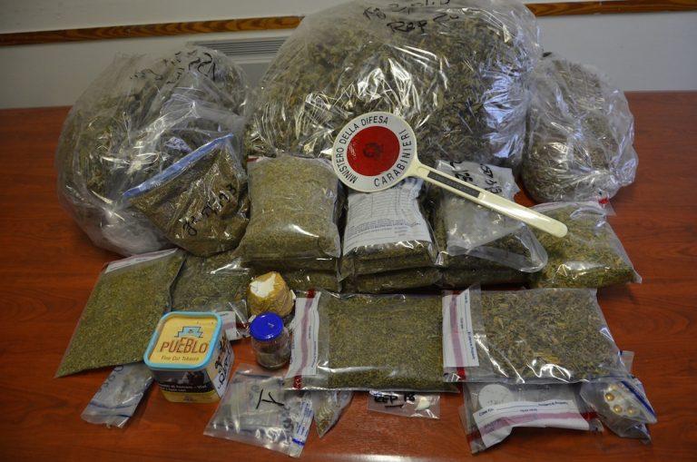 Aveva in casa 7 kg di marijuana: arrestato dai carabinieri di Villanova d'Asti