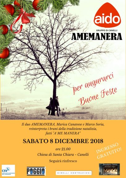 Concerto di Natale dell'Aido a Canelli