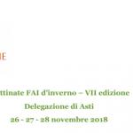 Asti: aperte le prenotazioni per le Mattinate FAI d'inverno riservate alle scuole