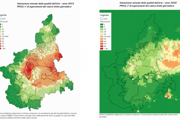 La Georgia sceglie il Piemonte come modello per misurare la qualità dell'aria
