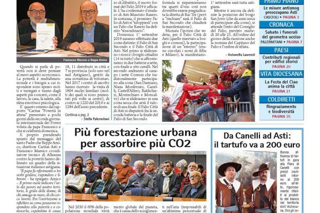 Prima pagina – 16 novembre 2018