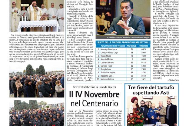 Prima pagina – 2 novembre 2018