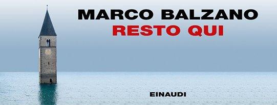 Asti, Marco Balzano vince il premio Asti d'Appello