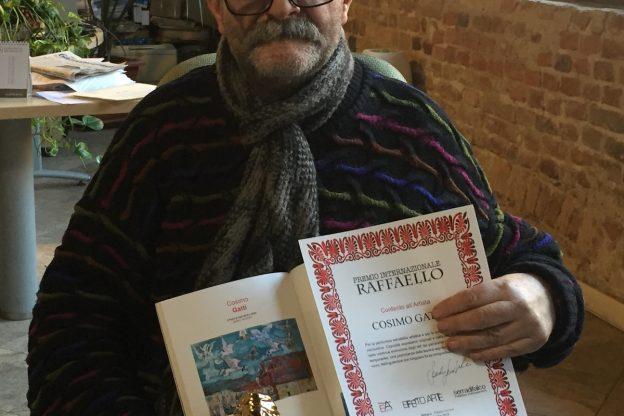 Premio Internazionale Raffaello per il pittore astigiano Cosimo Gatti