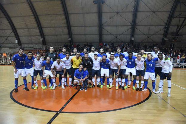 Asti, gli azzurri di calcio a cinque pareggiano con la Francia