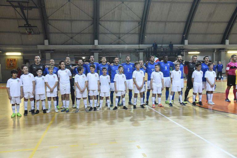 Asti, gli azzurri del futsal pareggiano ancora con la Francia
