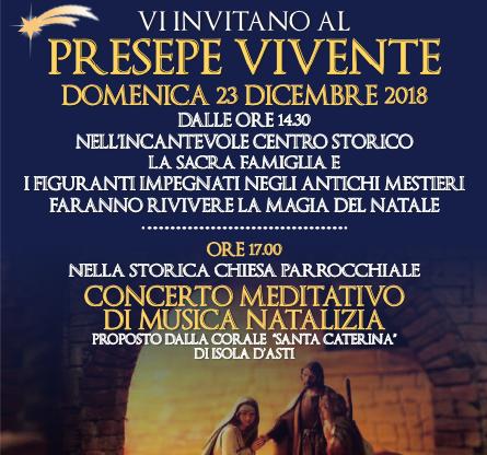 Presepi viventi, degustazioni, concerti: prosegue Oro incenso mirra – Presepi nel Monferrato