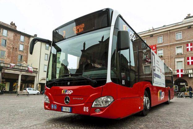 Martedì 11 dicembre nuove variazioni di percorso dei bus di Asp per lavori alla rotonda tra via Foscolo e via Marello