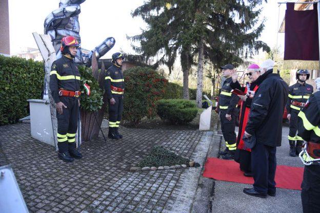 I vigili del fuoco di Asti celebrano Santa Barbara: la fotogallery