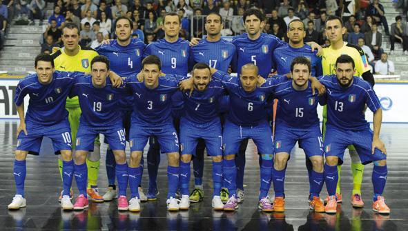 La nazionale di futsal ad Asti per una doppia sfida contro la Francia