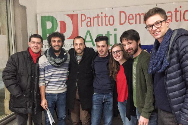 Under 30 astigiani per Paolo Furia segretario regionale del PD